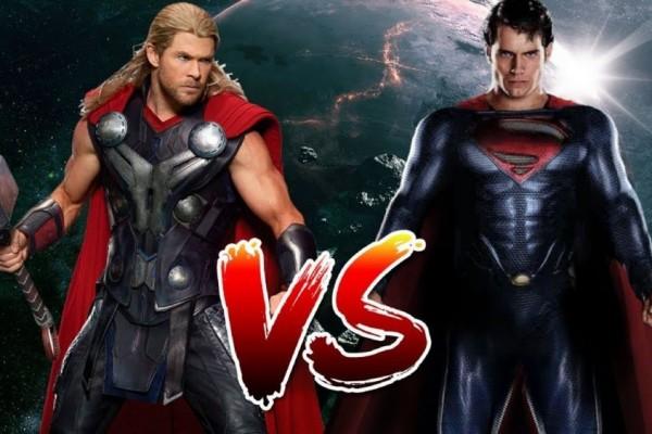 Thor Melawan Superman Dan Siapakah Yang Akan Menang?
