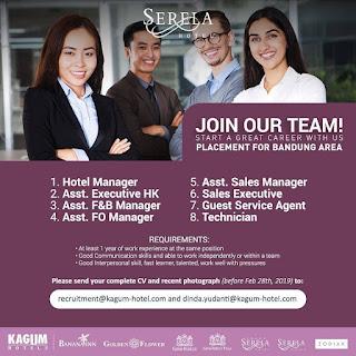Karir Lowongan Kerja Kagum Hotel Bandung 2020 Terbaru