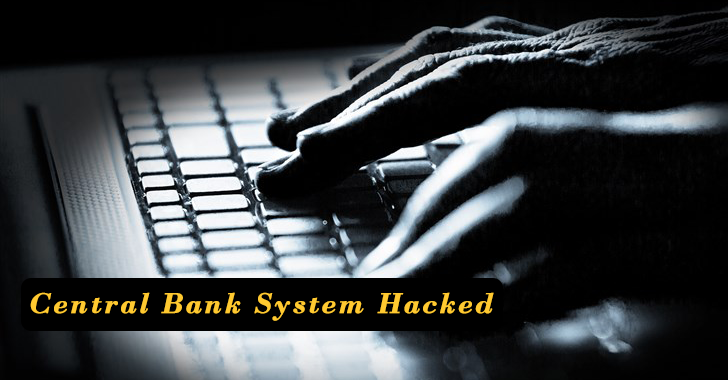 New Zealand Central Bank System Hacked