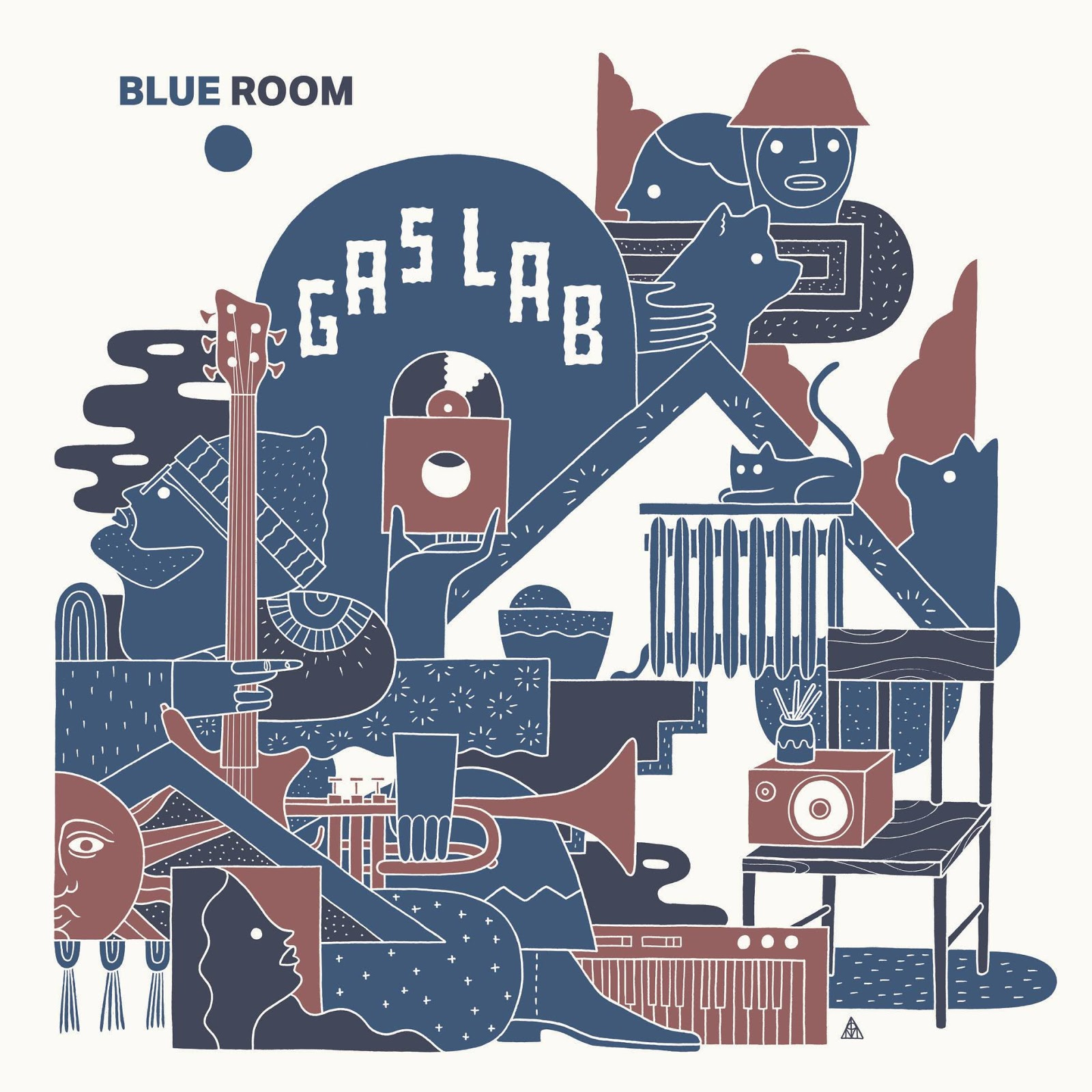 GAS LAB - BLUE ROOM | Full Album Stream & Vinyl Tipp