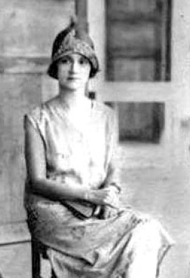 1920s era photo of Matilde Hidalgo of Loja Ecuador