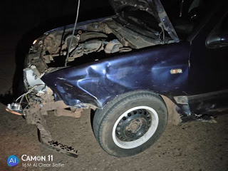 News:- Prince Mk has an accident with his car