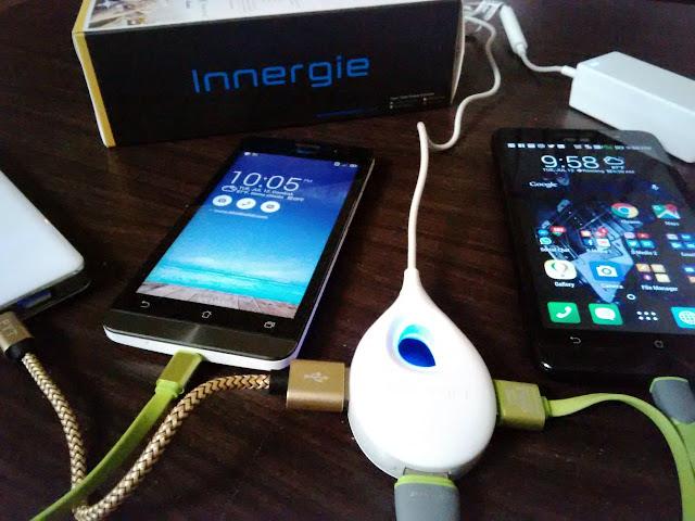 Innergie LifeHub Plus, Three-port Mobile Super-Speed Charging Hub,