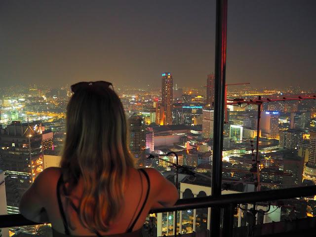 View from the Heli Lounge Kuala Lumpur