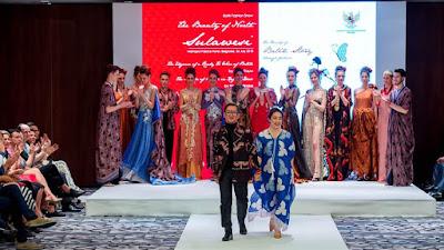 Pesona Batik 'Cerita' Sulawesi Utara Buat Kagum 300 Tamu di Belgrade Serbia