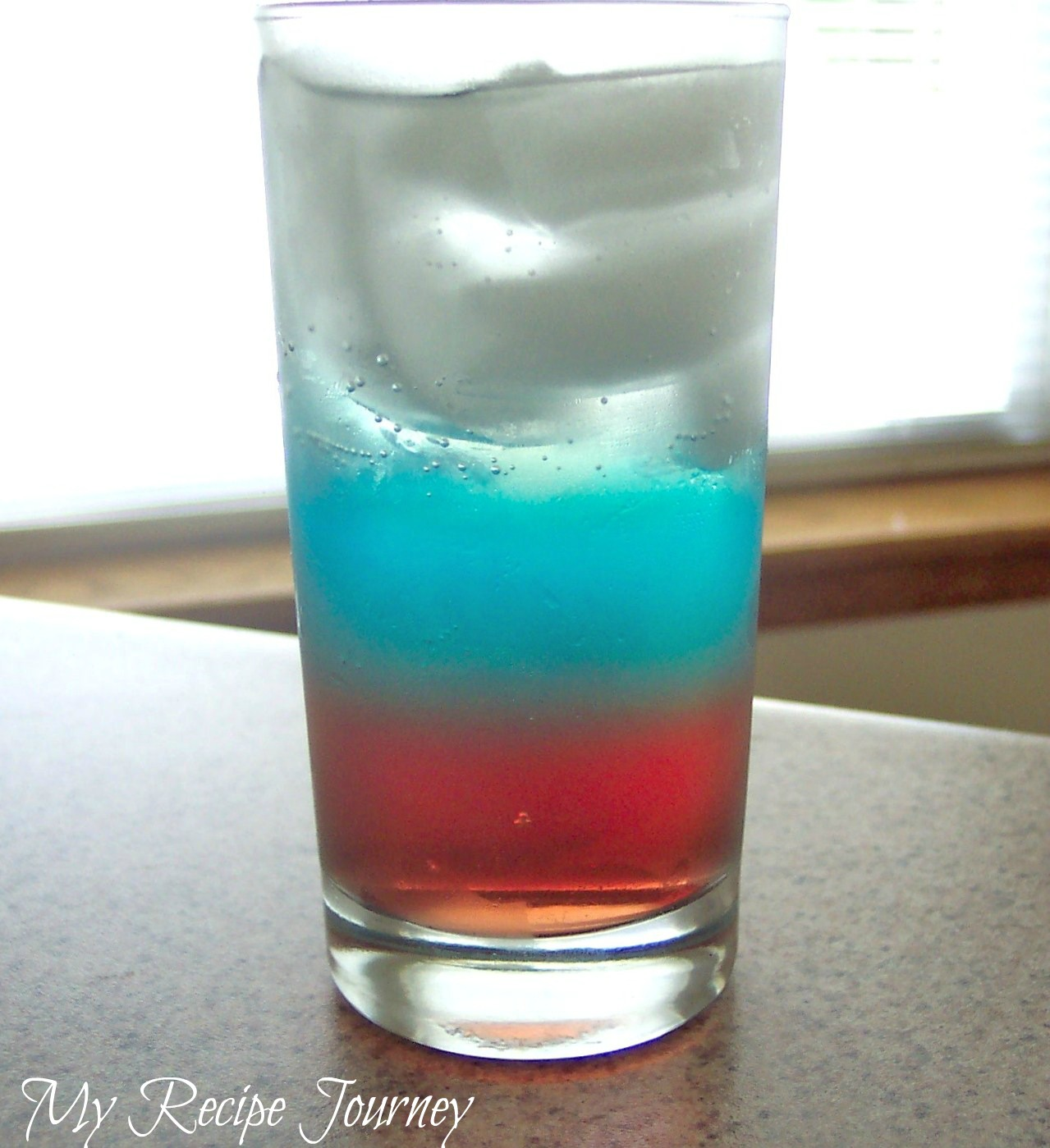 My Recipe Journey: Red White And Blue Drink