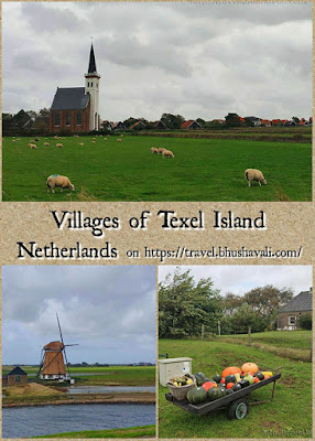 Villages of Texel island pinterest