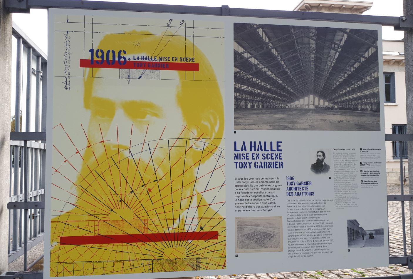 Histoire de la Halle Tony Garnier, les origines