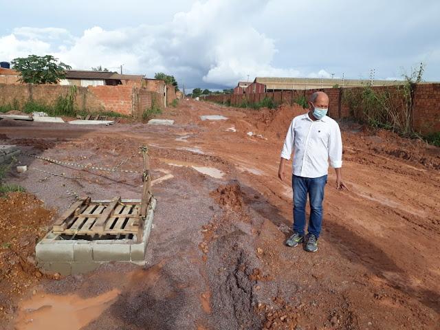 Coronel Chrisóstomo destina R$ 12,4 milhões em emendas para asfaltar ruas de Porto Velho e fiscaliza obras