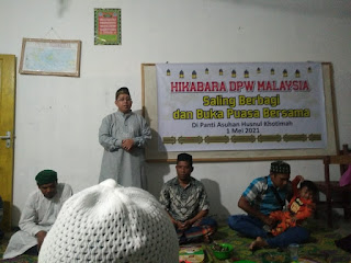 HIKABARA DPW Malaysia Saling Berbagi Dan Buka Puasa Bersama
