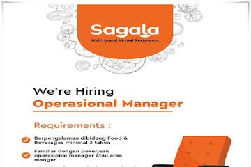 Lowongan Kerja Operasional Manager Sagala