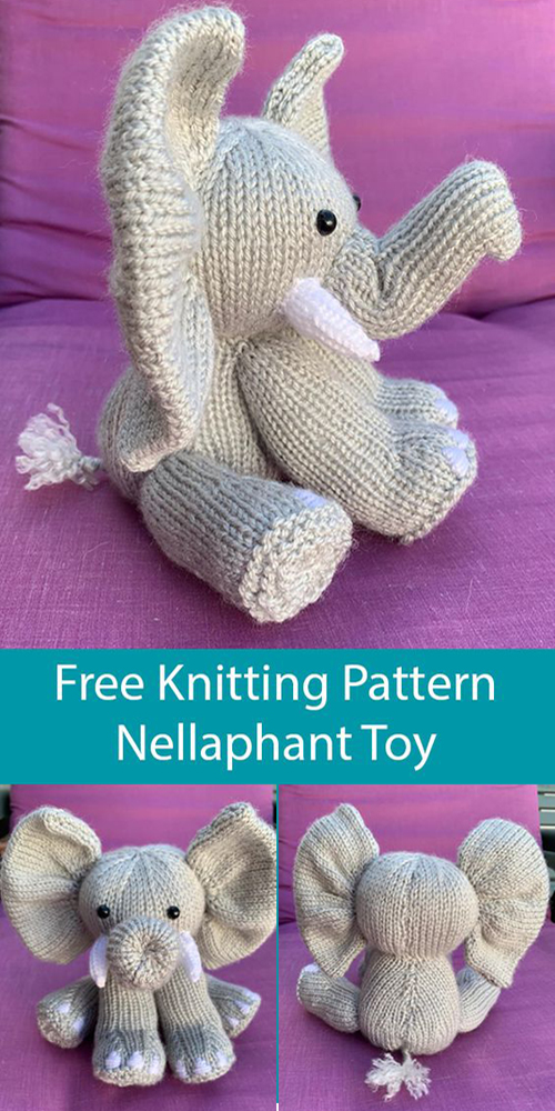 Nellaphant Toy - Free Knitting Pattern