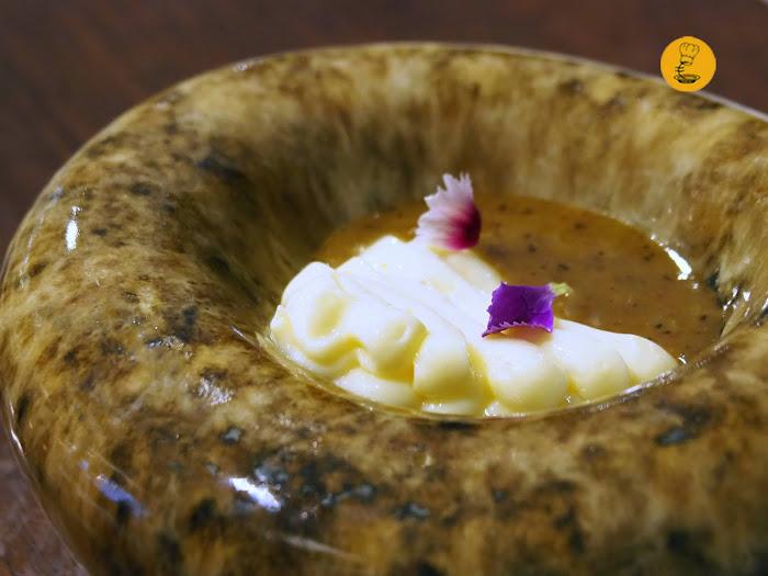 Crema de quesillo canario en Lilium Lanzarote