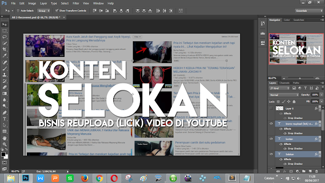 Paling sering di bajak: Adobe Photoshop, Premiere, AfterEffect, dll