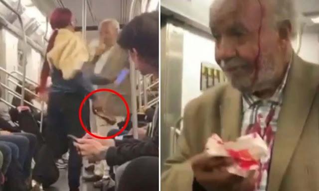 79летний мужчина был избит в нью-йоркском метро за проповедь Евангелия