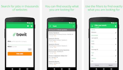 Trovit Jobs App To Find Job