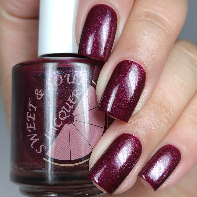 Sweet & Sour Lacquer - You Are What You Beet