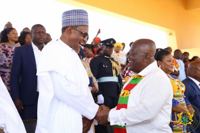 Ghana is Africa's true and first democracy – Buhari on coup claims