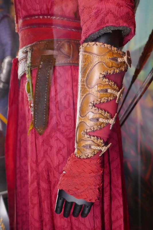 Shang-Chi Katy wrist guard costume detail