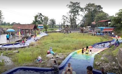 Wisata air di klaten - Umbul Pelem waterpark