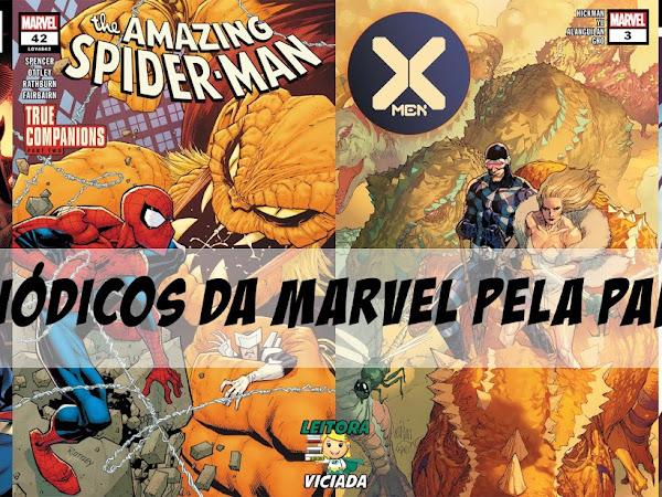 Planejamento de 2021 da Panini para os títulos periódicos da Marvel