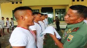 Syarat Fisik Menjadi Anggota TNI AD