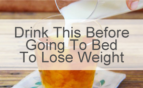 Drink This Before Going To Bed To Lose Weight