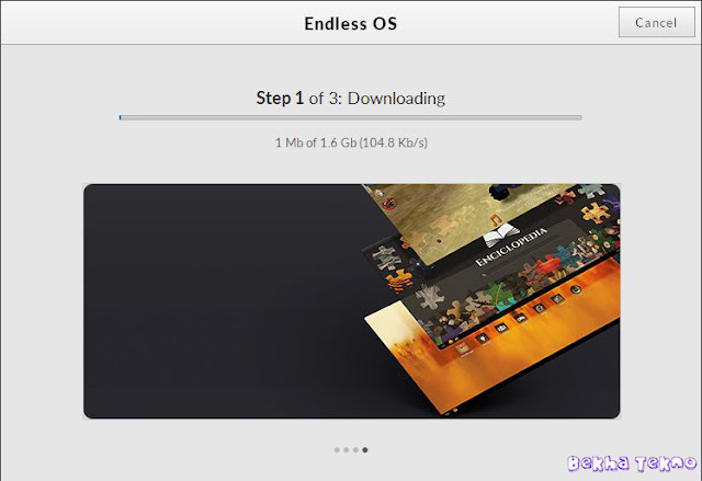 Instal OS Endless 5