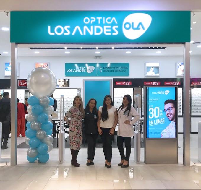 Óptica Los Andes abre una nueva sucursal en Ambato