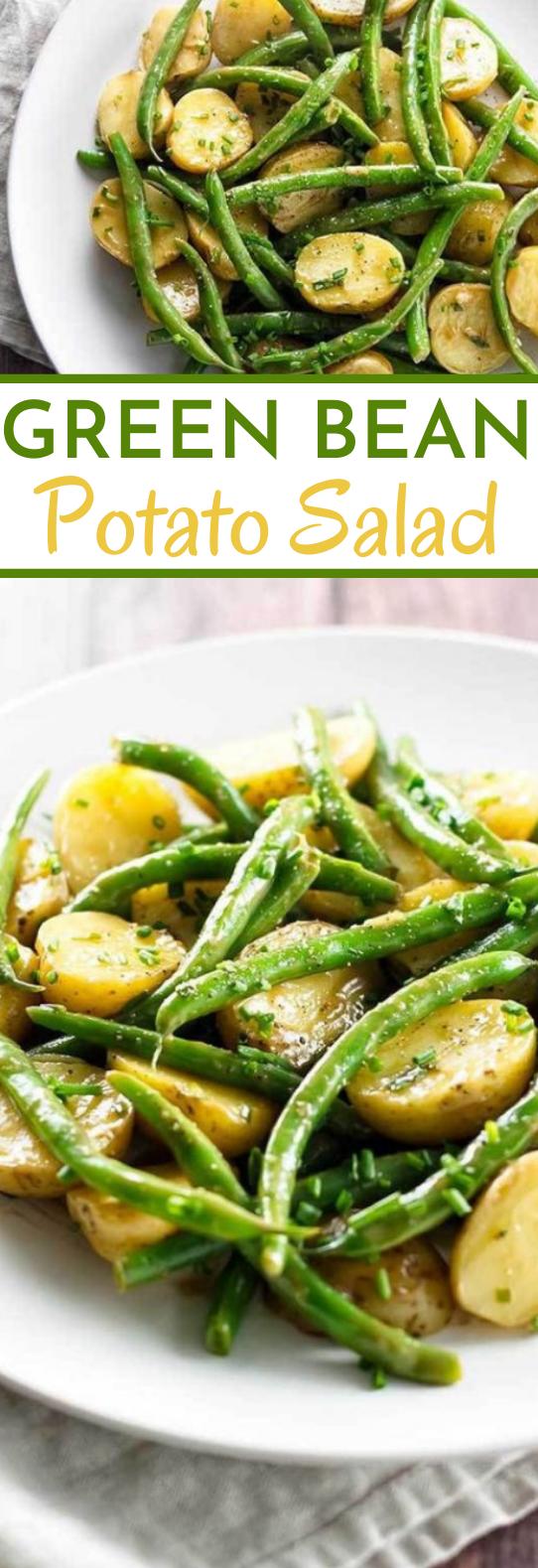 Green Bean Potato Salad #vegan #salad #healthy #gluenfree #sidedish
