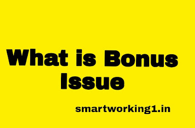 What is Bonus Issue