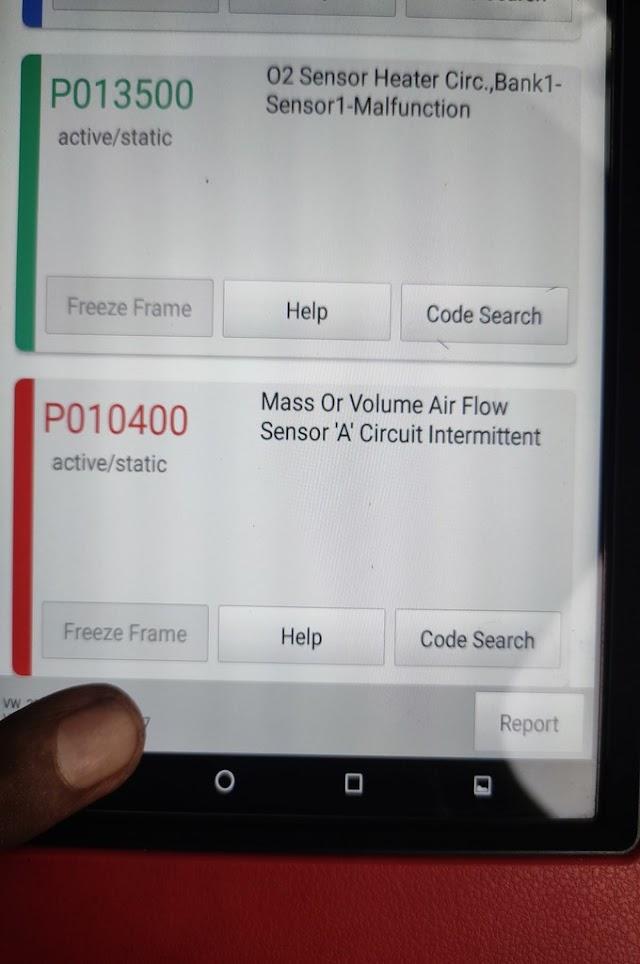 car code dtc fault code