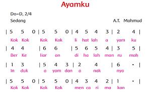 """lagu """"Ayamku"""" www.simplenews.me"""