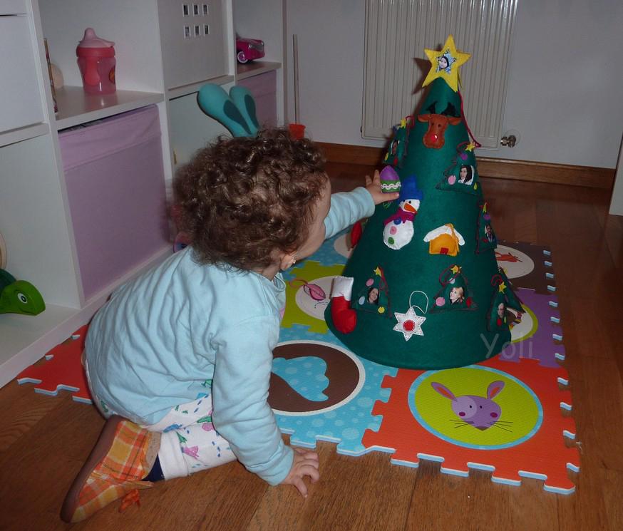 Manualidades merrajo yoli arbol de navidad para ni os - Arbol de navidad para ninos ...
