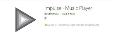 impulse music player Aplikasi Player Musik Offline Gratis Terbaik di Android