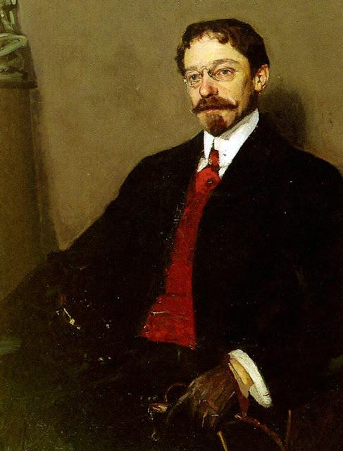 Richard Edward Miller,  International Art Gallery, Portrait of a Dandy, Portraits Of Painters, Fine arts, Self-Portraits