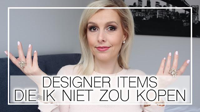 Designer items die ik niet zou kopen