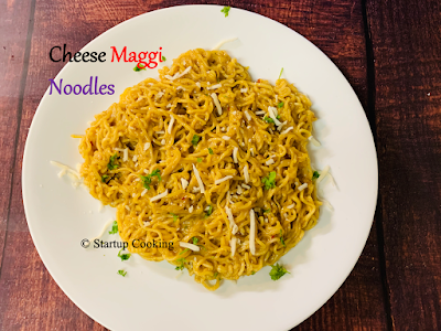 Cheese Maggi noodles