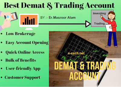 India's best demat and trading account list