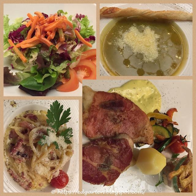 Mittagessen Lugano