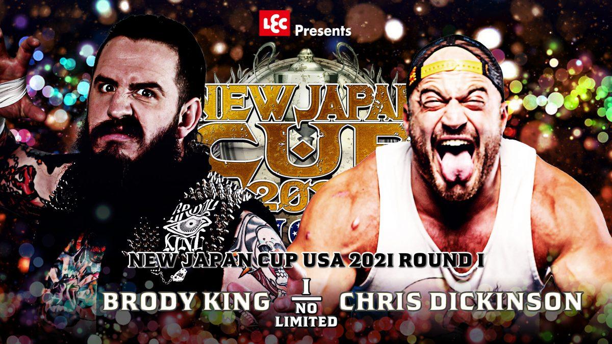 Cobertura: NJPW New Japan Cup USA 2021 – Day 01 – Começo do fim!