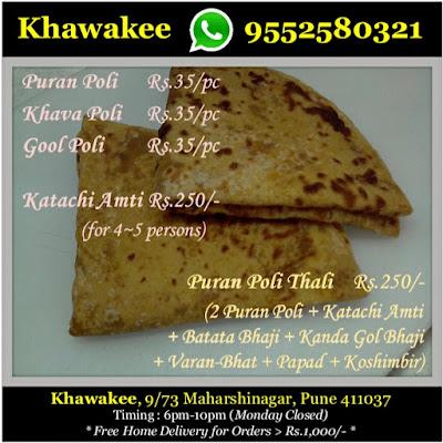 Khawakee Puranpoli