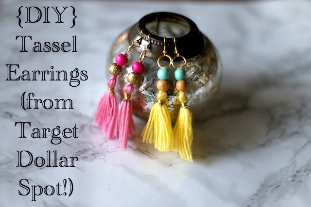 our life in a click: {Get Crafty} Tassel Earrings (from