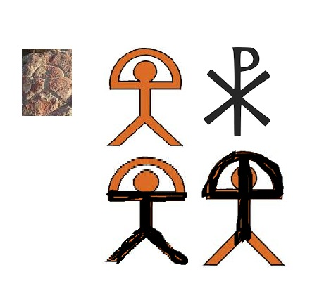 Indaloblog Indalo Chi Rho Symbols Are They Related