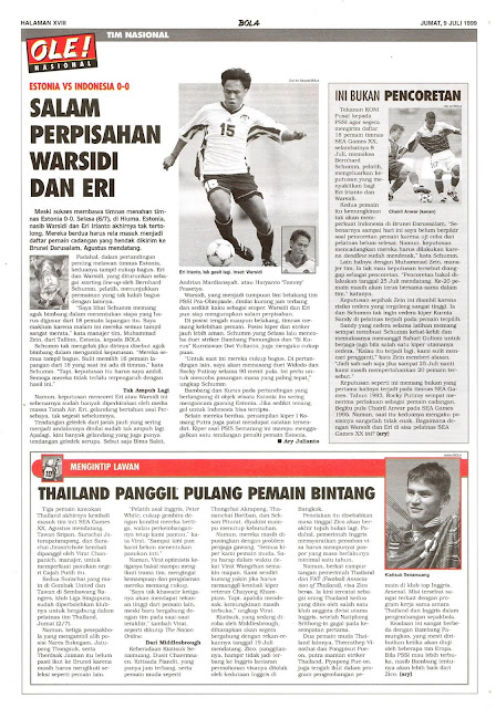 ESTONIA VS INDONESIA 0-0 SALAM PERPISAHAN WARSIDI DAN ERI