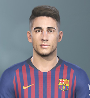 PES 2019 Faces Guillem Jaime by Sofyan Andri
