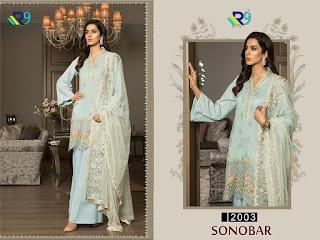 R9 Designer Studio Sanobar Pakistani Salwar Kameez