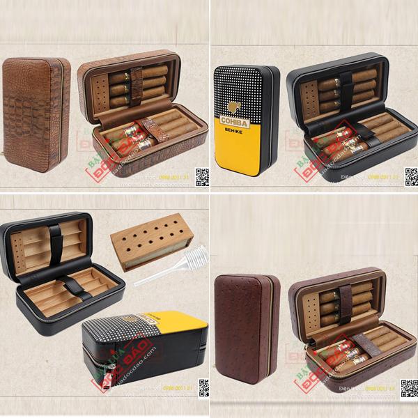 Hộp gỗ đựng xì gà mini loại 6 điếu Cohiba cao cấp