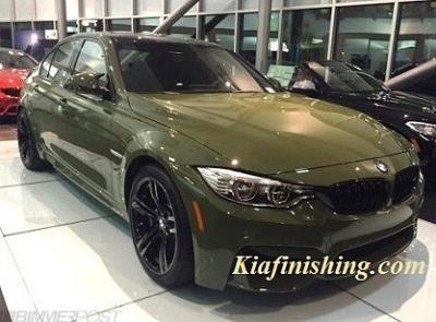 mobil hijau army gloss
