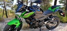 Permiso-moto-A2-Albacete-Kawa-Z400